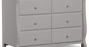 Amazon.com : Delta Children Universal 6 Drawer Dresser, Grey : Baby