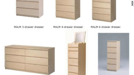 Another child dead from fallen IKEA dresser prompts recall reminder