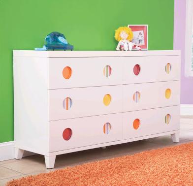 LittleMissMatched Dresser | Kids and Baby Design Ideas