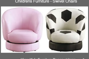 Childrens Seating Pink Swivel Chair, Kids Football Chairs, Tub Seat
