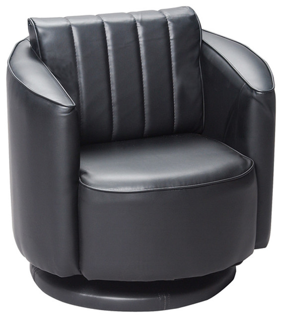 Gift Mark Home Kids Children Adult Upholstered Swivel Chair