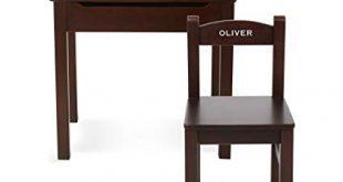 Amazon.com: Melissa & Doug Personalized Wooden Lift-Top Desk & Chair