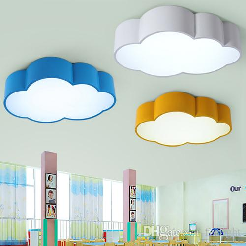 2019 LED Cloud Kids Room Lighting Children Ceiling Lamp Baby Ceiling