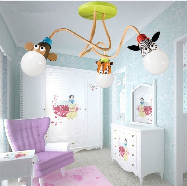 Free shipping Children's room ceiling lamp Boy Girl Bedroom lamp
