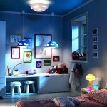 Childrens room lighting