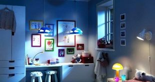 Perfect designed wall hanging lamps - best kids room lighting ideas