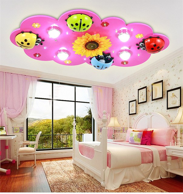 Children's room lights boys and girls LED ceiling light creative