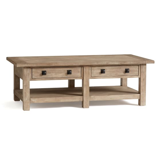 Benchwright Rectangular Coffee Table | Pottery Barn
