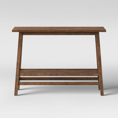 Haverhill Reclaimed Console Table Brown - Threshold™ : Target