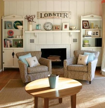 Get Cozy in Upholstered Beach Cottage Furniture | Cottage & Bungalow