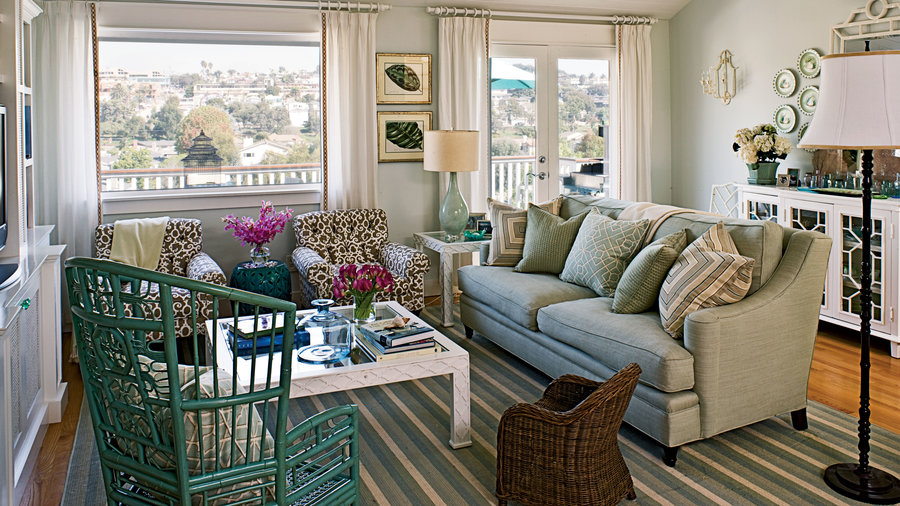 100 Comfy Cottage Rooms - Coastal Living
