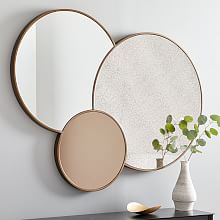 Foxed Trio Mirror