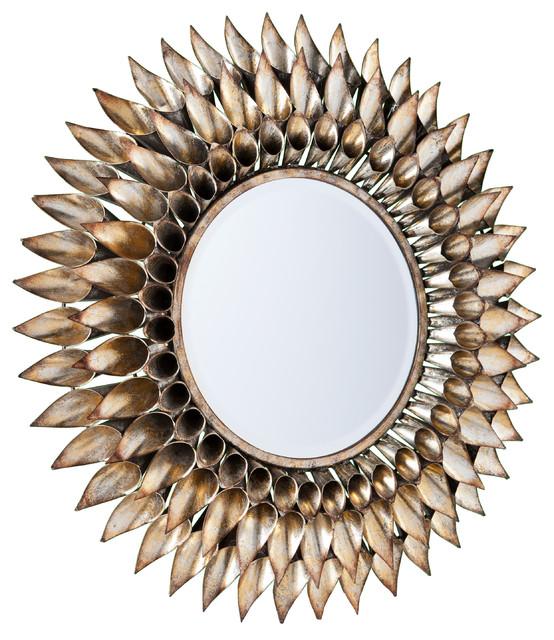 Roxbury Round Decorative Wall Mirror – Contemporary – Wall Mirrors
