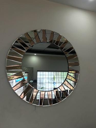 Designer Mirrors - Round Designer Mirror Manufacturer from Chandigarh