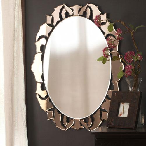 Small Decorative Modern Mirror - Small Designer Mirror and Small