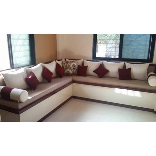 L Shape Designer Sofa at Rs 15000 /piece | L Shape Sofa Set | ID