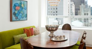 Cozy Up to a Loveseat at the Table