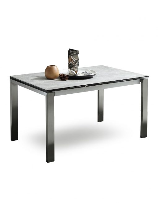 The Slate: Grey Ceramic Glass Top Table | Expand Furniture - Folding
