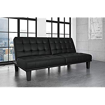 Amazon.com: DHP Dexter Futon and Recliner Lounger, Multi-functional