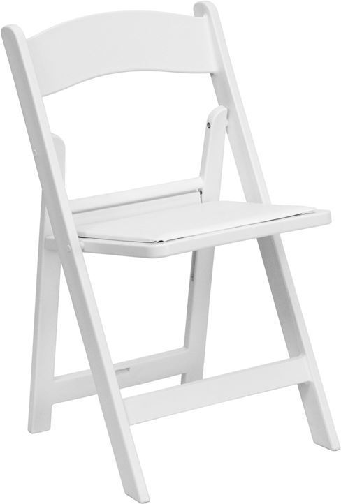 White garden chairs - chair rental - table and chair rental | Linens