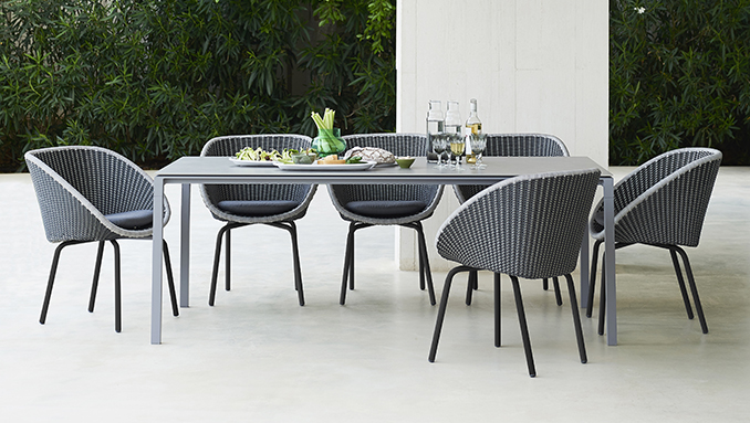 Garden furniture by Cane-line - Exclusive Luxury outdoor patio