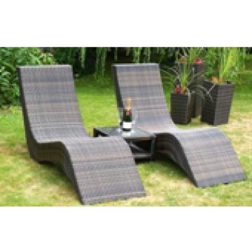 ML-284, China outdoor long chair,wicker sun lounger ,beach chair