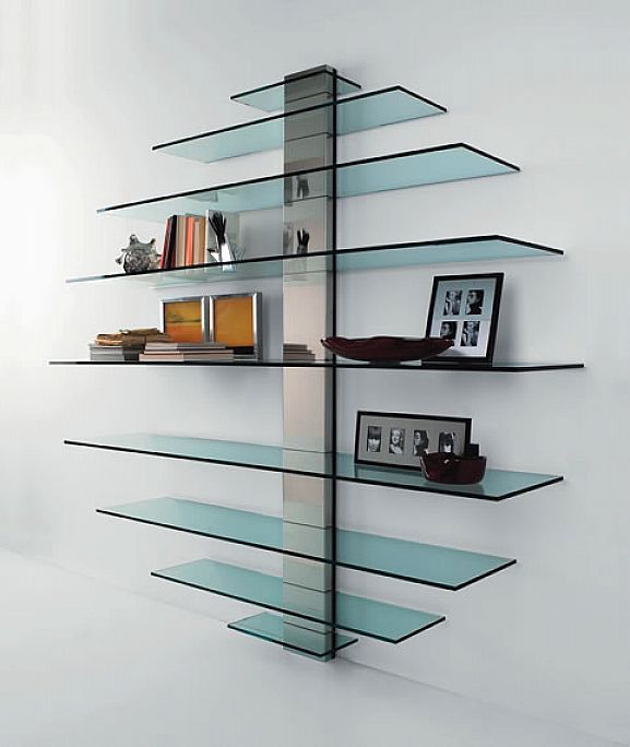 Glass Shelves: Subtle, high quality & useful!
