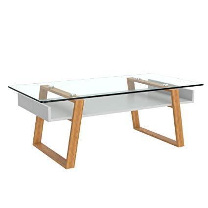 Amazon.com: bonVIVO Designer Coffee Table Donatella, Modern Coffee