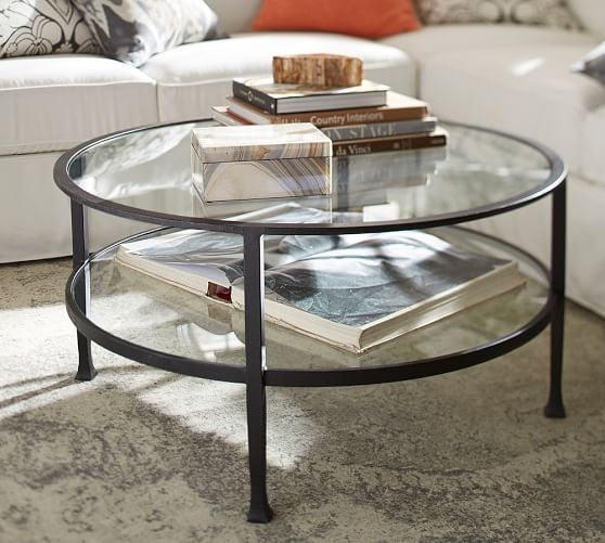 Glass, Wood and Metal Coffee Tables | Pottery Barn