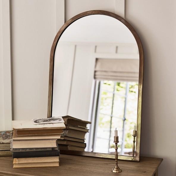 Window Mirror | Hallway Mirror | Classic Brass Mirror | Rowen and Wren