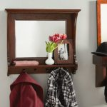 Hallway Mirror: for a quick look at the wardrobe!