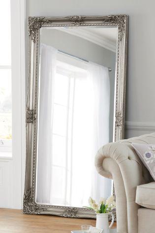 Charlotte Pewter Floor Mirror from Next. Hallway mirror! This mirror