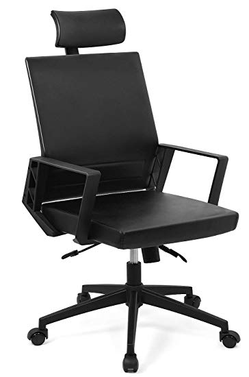 Amazon.com: Ergonomic Office Chair High Back Leather Executive Chair