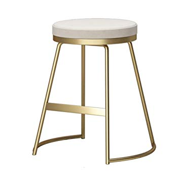 Amazon.com: High Stool Nordic Wrought Iron Home bar Stool Bar Stool