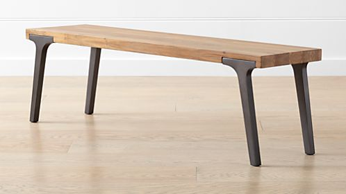 Kitchen and Dining Benches | Crate and Barrel