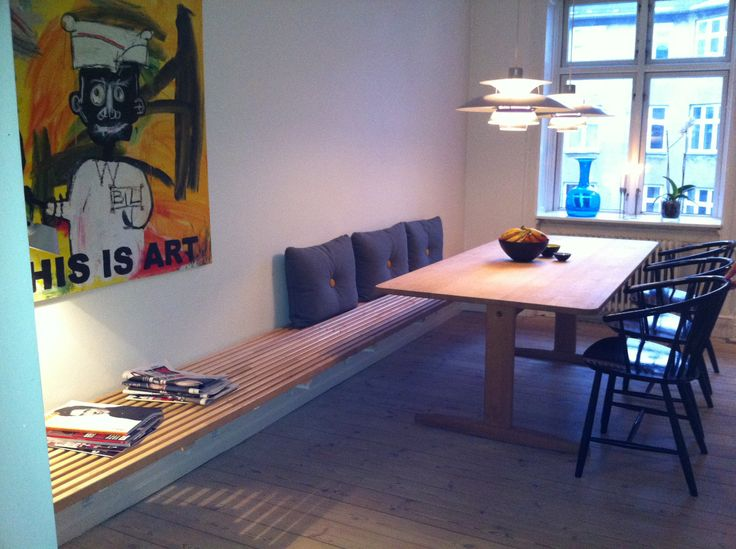 Kitchen Table Benches for Comfy Seating Space - Sortrachen