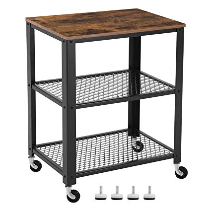 Amazon.com - SONGMICS Vintage Serving Cart, 3-Tier Kitchen Utility