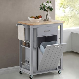 Kitchen Cart With Wheels 9