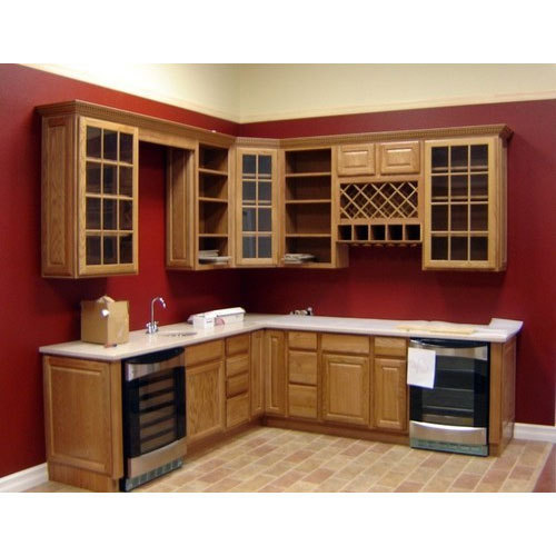 Practical kitchen cupboard provide storage space and order