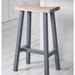 Kitchen stools are comfortable & trendy!