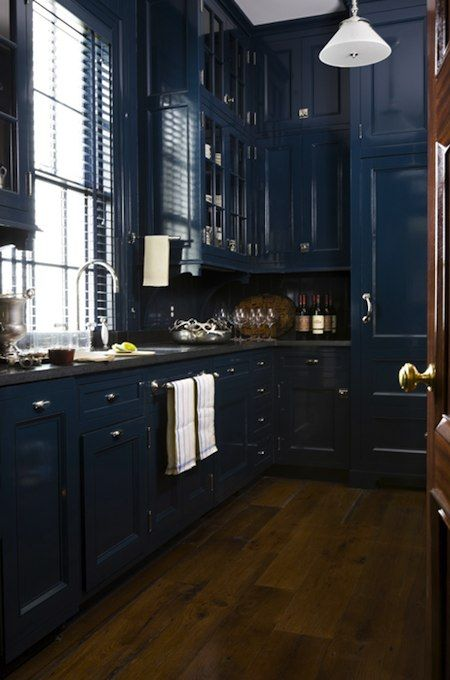 This Takes Guts! Monochromatic Kitchens from Miles Redd | For the