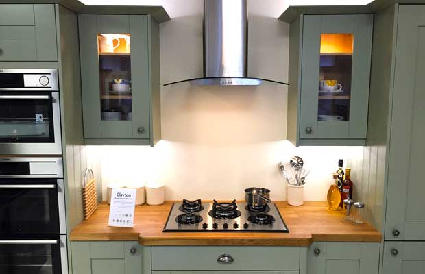 Do your kitchen units have glazed doors available? - DIY Kitchens