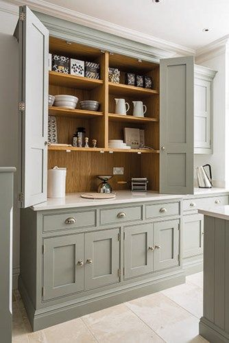 Kitchen Storage Idea | Pantry Cabinet Wall | Pinterest | Kitchen