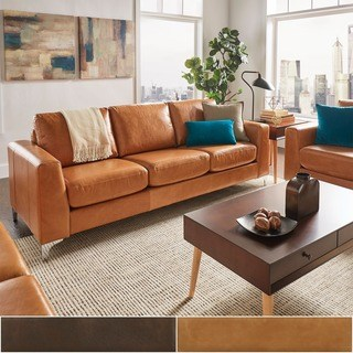 Buy Sofa, Leather Online at Overstock.com | Our Best Living Room
