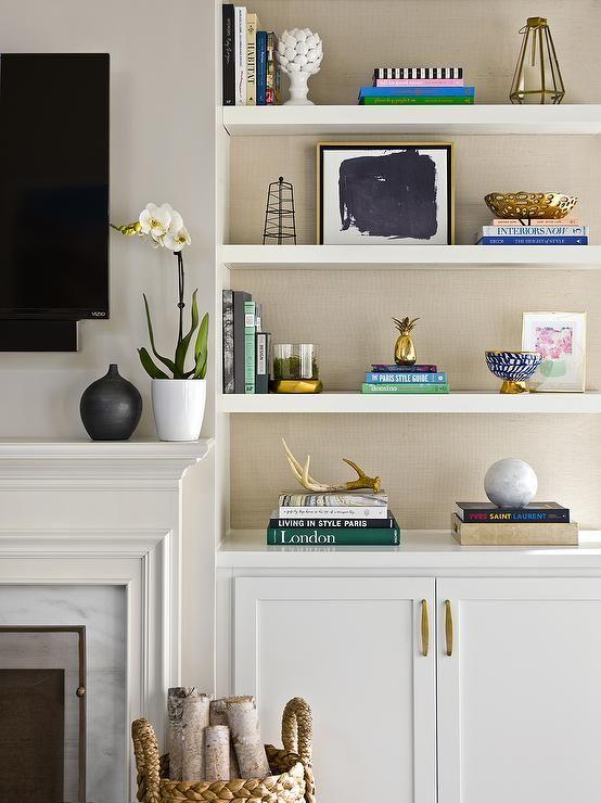 Living Room Shelves For A Better, Ideas For Decorating Living Room Shelves