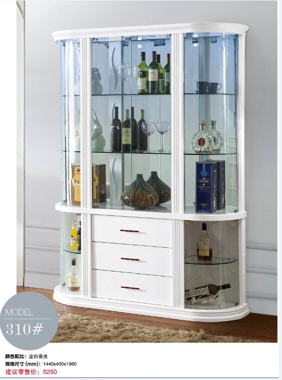 310# Living room furniture display showcase wine cabinet living room