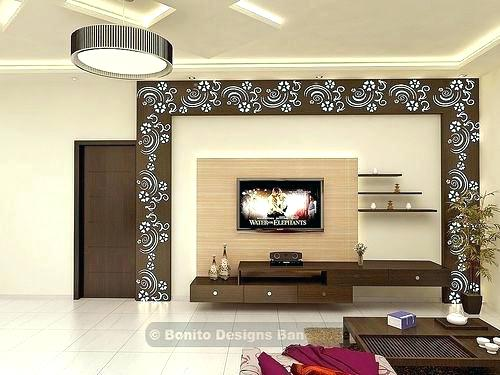 Tv Stand Ideas For Living Room Showcase Designs Bonito Wall Design