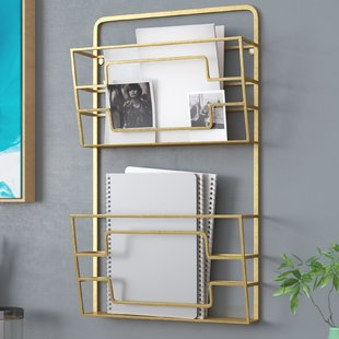 Magazine Holders & Racks You'll Love | Wayfair