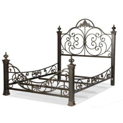 Metal - Beds & Headboards - Bedroom Furniture - The Home Depot