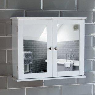 Mirror Bathroom Wall Cabinet | Wayfair.co.uk
